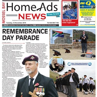 This week's Mossel Bay Home Ads News