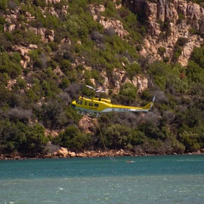 West Head fire 'under control'