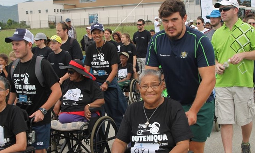 2018 Outeniqua Wheelchair Challenge