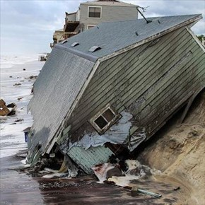 Hurricanes, earthquakes and war...