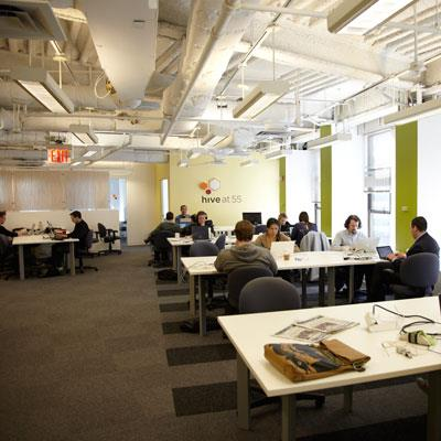 a closer look at shared working space george herald