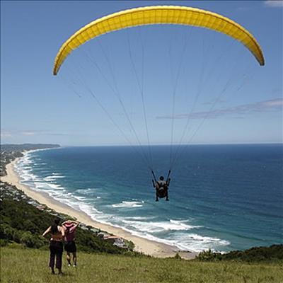 Paraglider has heart attack mid-flight | George Herald