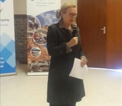 Helen Zille at environmental seminar