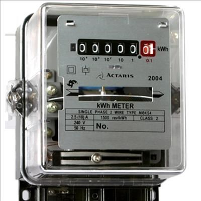 Electricity Meter With Card