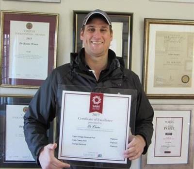 Triple Platinum for De Krans wines