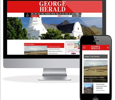 George Herald website now responsive