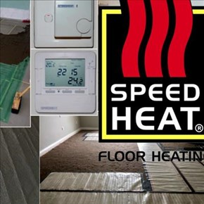 SpeedHeat Floor Heating: Comfort from the ground up