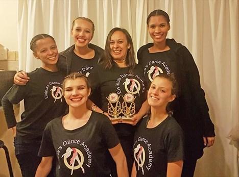 George dancers make their TV debut