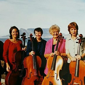 Grand cellists coming to George
