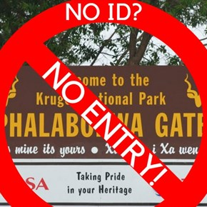 No ID, no passport: No access to Kruger Park