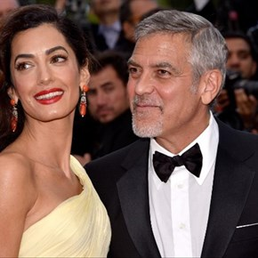George and Amal Clooney donate $1 million