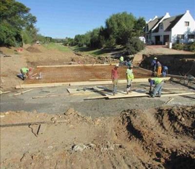 Vloedskade infrastruktuur herstel