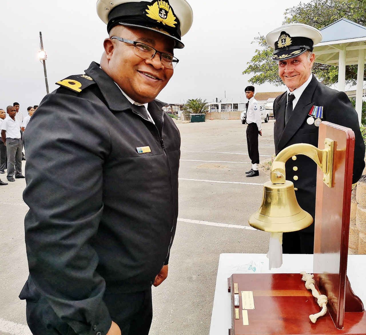 TS Outeniqua Sea Cadet Training Ship Awarded The Professor