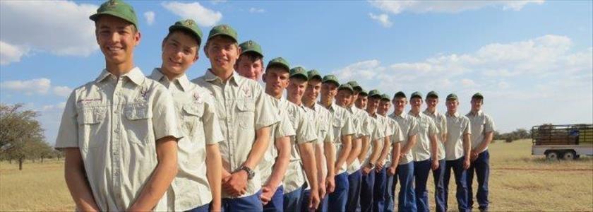 Jong jagters voltooi opleidingskursus