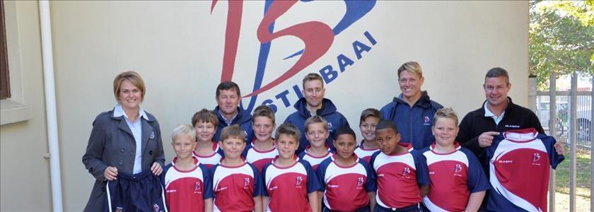 Nuwe sportdrag vir Laerskool Bertie Barnard